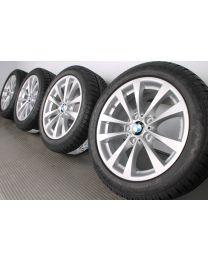 ORIGINAL BMW 3er F30 F31 / 4er F32 F33 F36 17 Zoll Winterradsatz Styling 395 V-Speiche