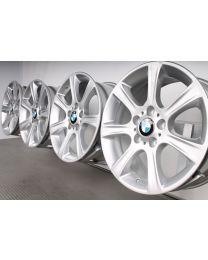 ORIGINAL BMW 3er F30 F31 / 4er F32 F33 F36 17 Zoll Felgensatz 394 Sternspeiche Silber