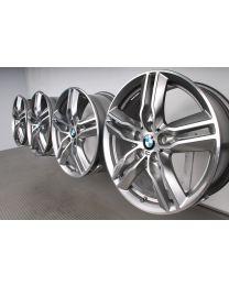 Original BMW X1 F48 X2 F39 18 Zoll Alufelgen M Doppelspeiche 570 Bicolor