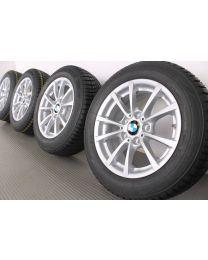 Original BMW 3er F30 F31 4er F32 F33 F36 16 Zoll Winterradsatz 390 V-Speiche