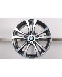 1x Original BMW F20 F21 2er F22 F23 18 Zoll Alufelge 384 Doppelspeiche
