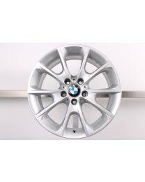 1x ORIGINAL BMW 3er F30 F31 F34 GT 4er F32 F33 18 Zoll Alufelge 398 Y-Speiche