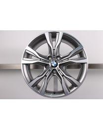 1x ORIGINAL BMW 2er AT F45 GT F46 18 Zoll Alufelge 484 Doppelspeiche Bicolor