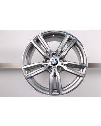 1x ORIGINAL BMW 2er AT F45 GT F46 18 Zoll Alufelge 486 M Doppelspeiche Bicolor