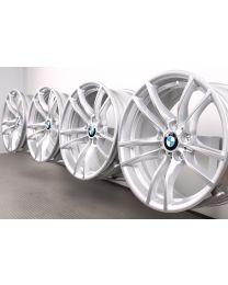 ORIGINAL BMW M3 F80 / M4 F82 F83 18 Zoll Alufelgen 640 M Doppelspeiche Silber