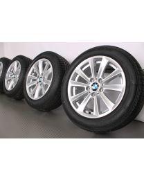 Original BMW 5er F10 F11 / 6er F06 F12 F13 17 Zoll Sommerradsatz 236 V-Speiche