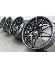 ORIGINAL BMW M3 F80 / M4 F82 F83 20 Zoll Alufelgen 666 M Sternspeiche Grau matt