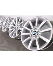 ORIGINAL BMW 5er F10 F11 / 6er F06 F12 F13 18 Zoll Alufelgen 365 Sternpseiche Silber
