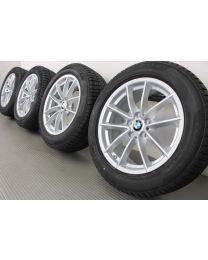 ORIGINAL BMW 5er G30 G31 17 Zoll Winterradsatz 618 V-Speiche