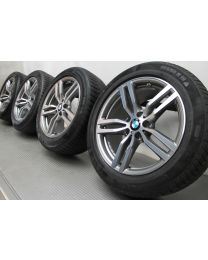 BMW Winterkompletträder X6 F16 19 Zoll 623 M Doppelspeiche RDC bicolor