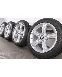 Original BMW 3er F30 F31 / 4er F32 F33 F36 17 Zoll Winterradsatz 393 Sternspeiche