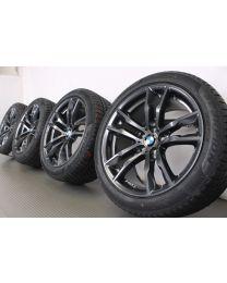 Original BMW X5 F15 / X6 F16 20 Zoll Winterradsatz M611 Doppelspeiche Orbit Grey