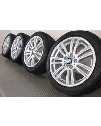 BMW Winterkompletträder 1er F20 F21 2er F22 F23 17 Zoll 383 M Sternspeiche