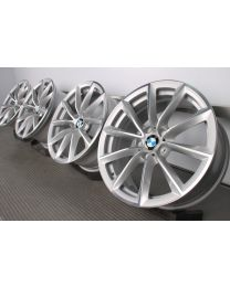 ORIGINAL BMW Z4 E89 19 Zoll Alufelgen 296 V-Speiche Silber / Glanzgedreht