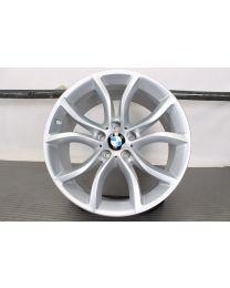 ORIGINAL BMW X6 F16 19 Zoll Alufelge für die Hinterachse! 594 V-Speiche Silber
