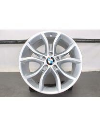 ORIGINAL BMW X6 F16 19 Zoll Alufelge für die Vorderachse! 594 V-Speiche Silber