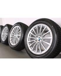 BMW Winterkompletträder 6er G32 7er G11 18 Zoll 619 Vielspeiche RDC silber