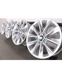 ORIGINAL BMW X3 F25 / X4 F26 18 Zoll Alufelgen 307 V-Speiche