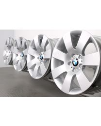 ORIGINAL BMW 5er E60 E61 18 Zoll Alufelgen 123 Sternspeiche