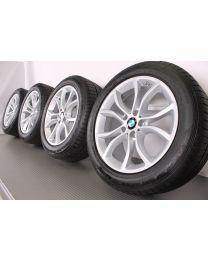 Original BMW X6 F16 19 Zoll Sommerradsatz 594 V-Speiche Silber