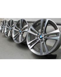 ORIGINAL BMW 3er F30 F31 / 4er F32 F33 F36 / 3er GT F34 18 Zoll Alufelgen 397 Doppelspeiche