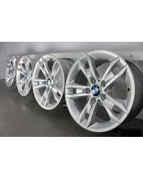 ORIGINAL BMW X1 E84 17 Zoll Felgensatz 319 Sternspeiche