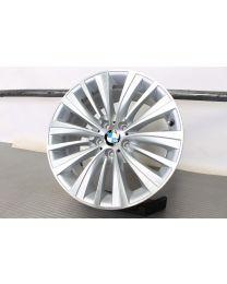 1x ORIGINAL BMW 7er F01 F02 F04 / 5er GT F07 19 Zoll Alufelge für die Hinterachse 458 Vielspeiche Bicolor