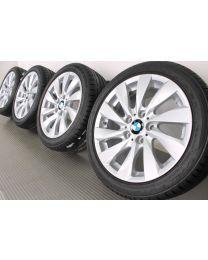 ORIGINAL BMW 1er F20 F21 / 2er F22 17 Zoll Sommerradsatz 381 Turbinenstyling