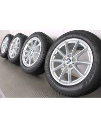 BMW Winterkompletträder V-Speiche 560 silber 17 Zoll X1 F48 X2 F39 RDCi
