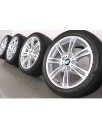 ORIGINAL BMW 5er F10 / 6er F06 F12 F13 18 Zoll Sommerradsatz 350 M Doppelspeiche