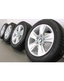 ORIGINAL BMW 5er F10 F11 / 6er F06 F12 F13 17 Zoll Winterradsatz 327 Sternspeiche