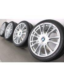 ORIGINAL BMW 3er F30 F31 / 4er F32 F33 F36 19 Zoll Sommerradsatz Styl. 439 Individual V-Speiche Bicolor (Silber/Glanzgedreht)