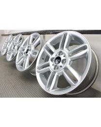 Original Mini R50 R52 R53 R55 R56 R57 R58 R59 16 Zoll Alufelgen R119 6 Star Twin Spoke