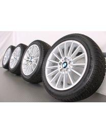 ORIGINAL BMW 5er F10 F11 / 6er F06 F12 F13 18 Zoll Winterradsatz 237 Vielspeiche