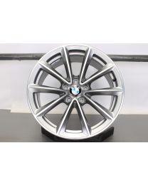 ORIGINAL BMW X1 E84 19 Zoll Alufelge 324 V-Speiche Ferricgrey / Glanzgedreht