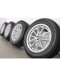 Original BMW X3 F35 / X4 F26 17 Zoll Winterradsatz 304 V-Speiche