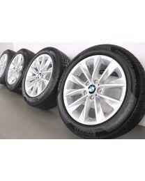 BMW Winterkompletträder X3 F25 X4 F26 18 Zoll 307 V-Speiche RDC Silber