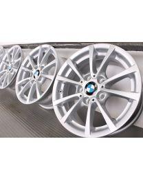 Original BMW 3er F30 F31 / 4er F32 F33 F36 16 Zoll Alufelgen 390 V-Speiche Silber
