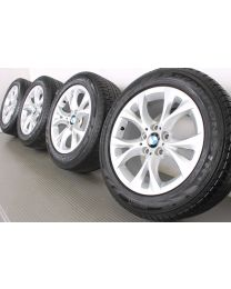 ORIGINAL BMW X3 E83 17 Zoll Allwetterradsatz 279 V-Speiche