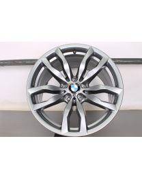 ORIGINAL BMW X6 E71 20 Zoll Alufelge für die Hinterachse 435M Doppelspeiche