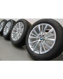 Original BMW 6er G32 7er G11 G12 18 Zoll Winterradsatz 643 W-Speiche