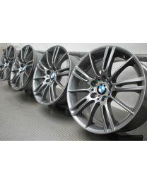 ORIGINAL BMW 3er E90 E91 E92 E93 18 Zoll Alufelgen 193M Sternspeiche Ferric Grey