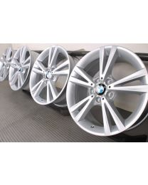 ORIGINAL BMW 1er F20 F21 / 2er F22 F23 18 Zoll Alufelgen 385 Doppelspeiche Silber