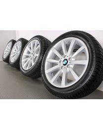 Original BMW 5er F10 F11 / 6er F06 F12 F13 18 Zoll Winterradsatz Sternspeiche 365 silber