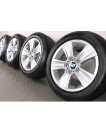 ORIGINAL BMW 5er F10 F11 / 6er F06 F12 F13 17 Zoll Sommerradsatz 327 Sternspeiche