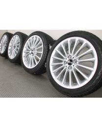 Original Mini R50 R55 R56 R57 R58 R59 17 Zoll Winterradsatz Mini Multi Spoke R108 Silber