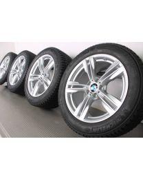 BMW Winterkompletträder X5 F15 19 Zoll 467 M Doppelspeiche RDC silber