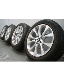 Original BMW X5 F15 E70 19 Zoll Winterradsatz 450 V-Speiche