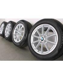 BMW Winterkompletträder X1 F48 17 Zoll Styling 560 V-Speiche RDC Silber