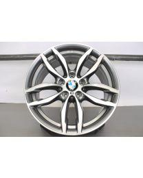 Original BMW X3 F25 / X4 F26 19 Zoll Alufelge für die Vorderachse